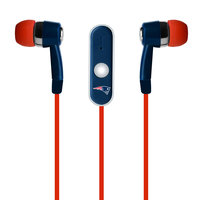 New England Patriots Earbuds with Microphone