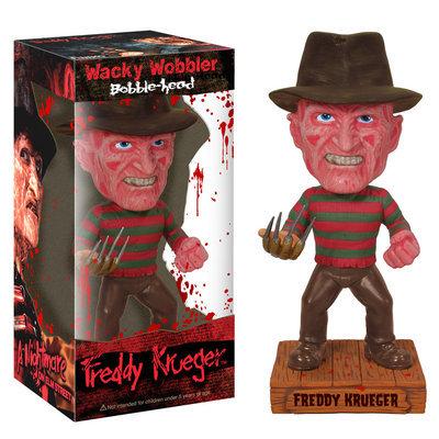 Funko Freddy Krueger Wacky Wobbler Bobble Head