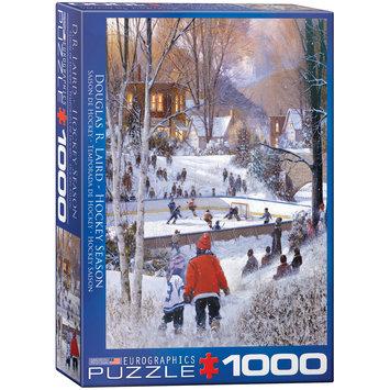 EuroGraphics 6000-0688 Hockey Season 1000-Piece Puzzle