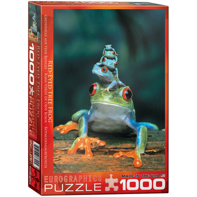 EuroGraphics Red-Eyed Tree Frog 1000 Piece Jigsaw Puzzle