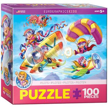 EuroGraphics 6100-0523 Girl Power! Aviators 100-Piece Puzzle