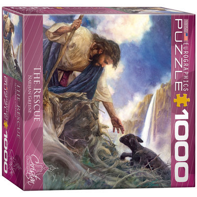 EuroGraphics 8000-0706 The Rescue by Nathan Greene 1000-Piece Puzzle (Small Box)