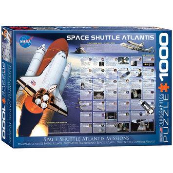 EuroGraphics 6000-0571 Space Shuttle Atlantis 1000-Piece Puzzle