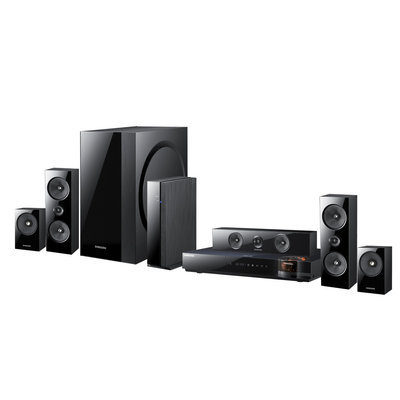 Topo-logic Systems, Inc. Samsung Reconditioned 1000W 5.1 CHANNEL 3D BLU-RAY HOME THEATER SYSTEM Wi-Fi FULL WEB BROWSER - HTE6500W