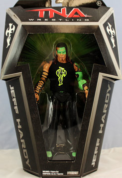 TNA Glow Paint Jeff Hardy Ringside Collectibles Exclusive Toy Wrestling Action Figure