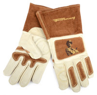Forney Industries Signature Men's Welding Gloves Large