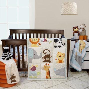 Bedtime Originals/lambs & Ivy Lambs & Ivy Zoomba 3-Piece Animal Crib Bedding Set