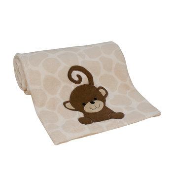 Bedtime Originals/lambs & Ivy Lambs & Ivy Zoomba Monkey Blanket