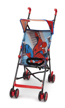 Delta Enterprise Corp Spiderman Umbrella Stroller