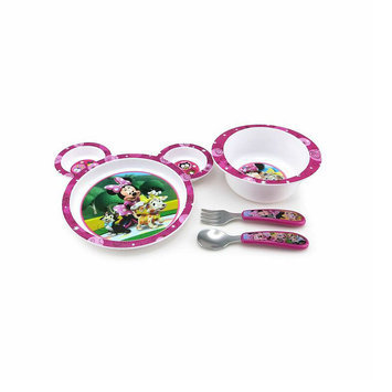 Disney Baby 4 pc. Minnie Feeding Set - THE FIRST YEARS, INC.