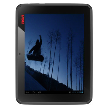 Rje Trade International, Inc. RCA Reconditioned 8 In. 8GB Dual Tuner Tablet with Mobile TV Front/Rear Cameras Wi-Fi Android 4.0 ICS -DMT580DU