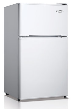 Sunpentown Int'l Inc SPT Energy Star 3.5 Cubic Foot Double Door Refrigerator in White