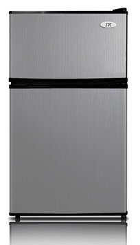 Sunpentown Int'l Inc SPT Energy Star 3.5 cubic foot Stainless Double Door Refrigerator