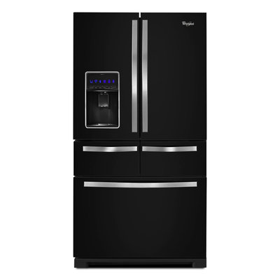 Whirlpool WRV996FDEE 25.8 Cu. Ft. Black Ice French Door Refrigerator