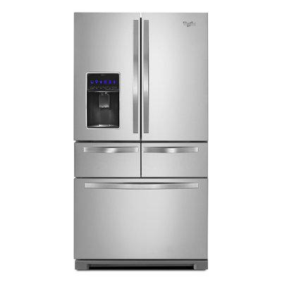 Whirlpool WRV996FDEM 26.0 Cu. Ft. Stainless Steel Ice French Door Refrigerator