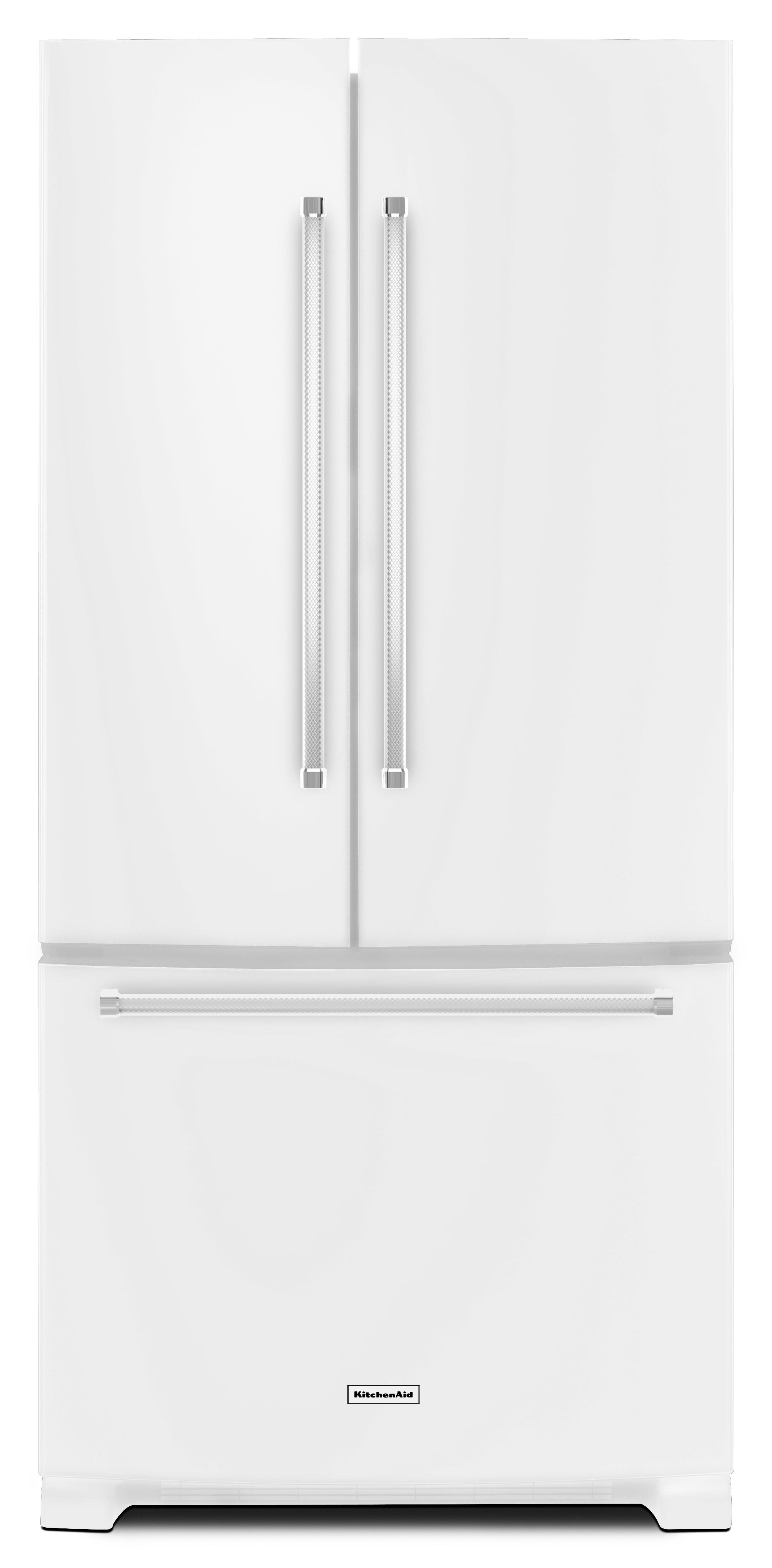 KitchenAid KRFF302EWH 22.0 Cu. Ft. White French Door Refrigerator