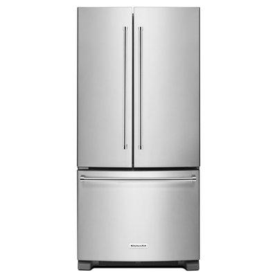 KitchenAid KRFF302ESS 22.0 Cu. Ft. Stainless Steel French Door Refrigerator