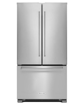 KitchenAid KRFC302ESS 22.0 Cu. Ft. Stainless Steel Counter Depth French Door Refrigerator