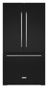 KitchenAid KRFF305EBL 25.0 Cu. Ft. Black French Door Refrigerator