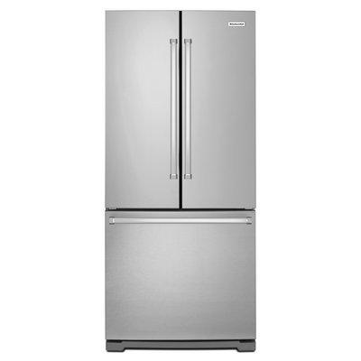 KitchenAid KRFF305ESS 25.0 Cu. Ft. Stainless Steel French Door Refrigerator