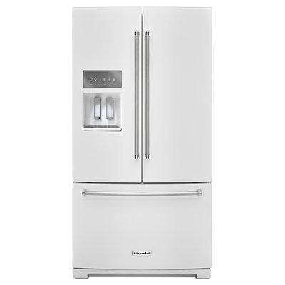KitchenAid KRFF507EWH 29.0 Cu. Ft. White French Door Refrigerator