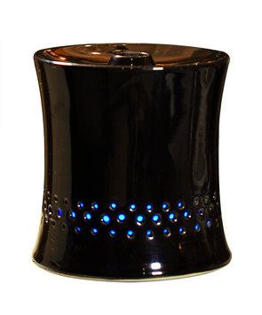 Sunpentown Int'l Inc SPT Ceramic Ultrasonic Black Aroma Diffuser/ Humidifier