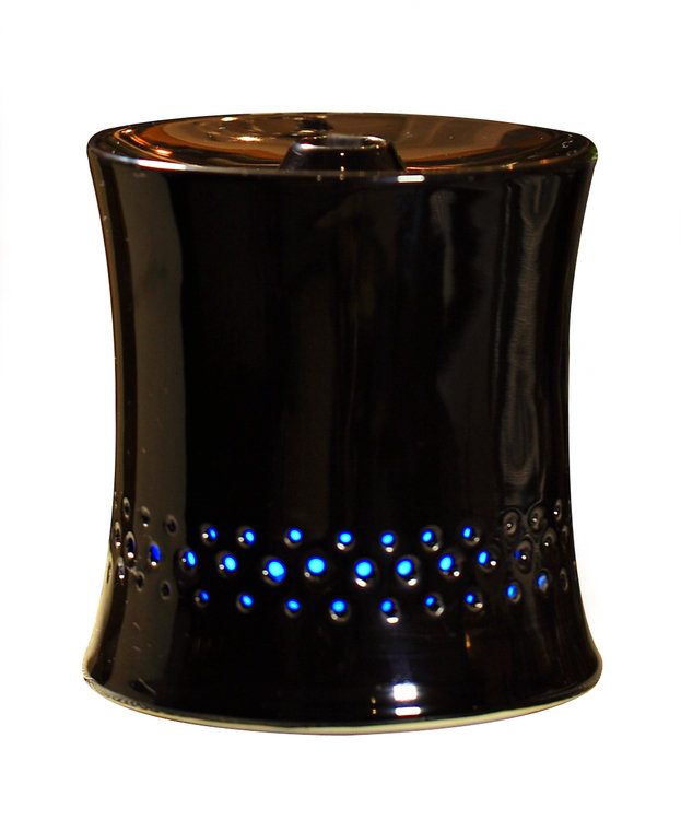 Sunpentown Int'l Inc SPT Ceramic Ultrasonic Black Aroma Diffuser/ Humidifier