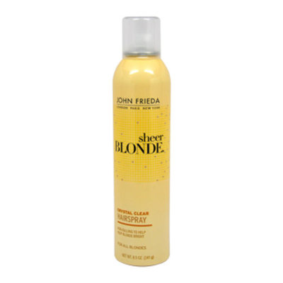 John Frieda® Sheer Blonde Crystal Clear Shape & Shimmer Hairspray