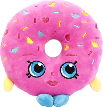 Richmond Specialty Mushroom Farm Ltd. ID02864E 8 inch Plush D'lish Donut Multi Color