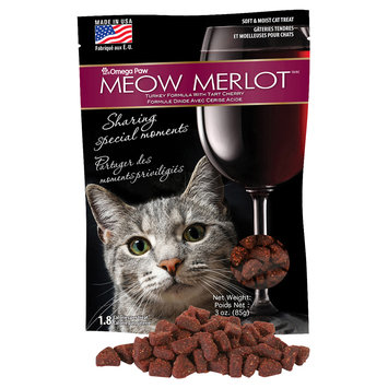 Omega Paws Meowmerlot Cat Treats