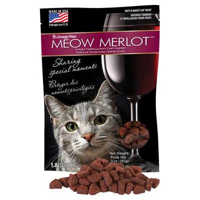 Omega Paws Meowmerlot Cat Treats