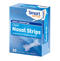 Smart Sense Nasal Strips Small/Medium Clear 30 strips
