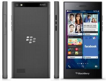 J.c. Hermans Floral Distributors, Inc. Blackberry BlackBerry Leap STR100-2 16GB Unlocked GSM 4G LTE Cell Phone - Shadow Grey