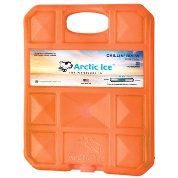 David Shaw Silverware Na Ltd Arctic Ice, LLC Chillin Brew 28 Degree Collegiate Orange Ice Panel-XL