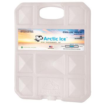 David Shaw Silverware Na Ltd Arctic Ice, LLC Chillin Brew 28 Degree Collegiate White Ice Panel-XL