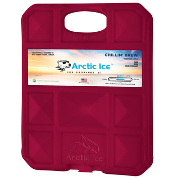 David Shaw Silverware Na Ltd Arctic Ice, LLC Chillin Brew 28 Degree Collegiate Maroon Ice Panel-XL