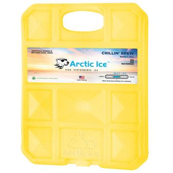 David Shaw Silverware Na Ltd Arctic Ice, LLC Chillin Brew 28 Degree Collegiate Yellow Ice Panel-XL