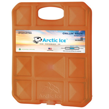 David Shaw Silverware Na Ltd Arctic Ice, LLC Chillin Brew 28 Degree Collegiate Burnt Orange Ice Panel-XL