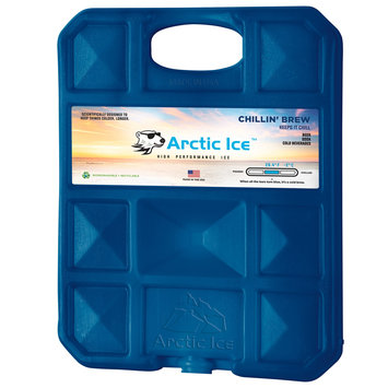 David Shaw Silverware Na Ltd Arctic Ice, LLC Chillin Brew 28 Degree Collegiate Navy Ice Panel-XL