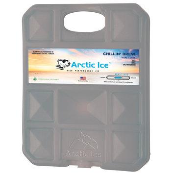David Shaw Silverware Na Ltd Arctic Ice, LLC Chillin Brew 28 Degree Collegiate Gray Ice Panel-XL