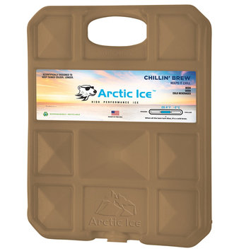 David Shaw Silverware Na Ltd Arctic Ice, LLC Chillin Brew 28 Degree Collegiate Gold Ice Panel-XL
