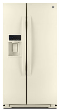 Kenmore 25 cu. ft. Side-by-Side Refrigerator - Bisque