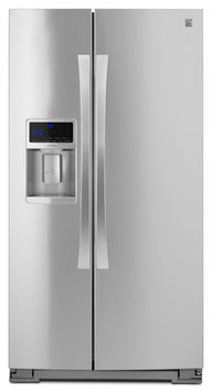Kenmore Elite 28 cu. ft. Side-by-Side Refrigerator - Stainless Steel