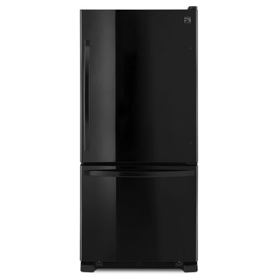 Kenmore 19 cu. ft. Single Door Bottom Freezer - Black