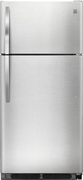 Kenmore 18 cu. ft. Top Freezer Refrigerator - Stainless Steel