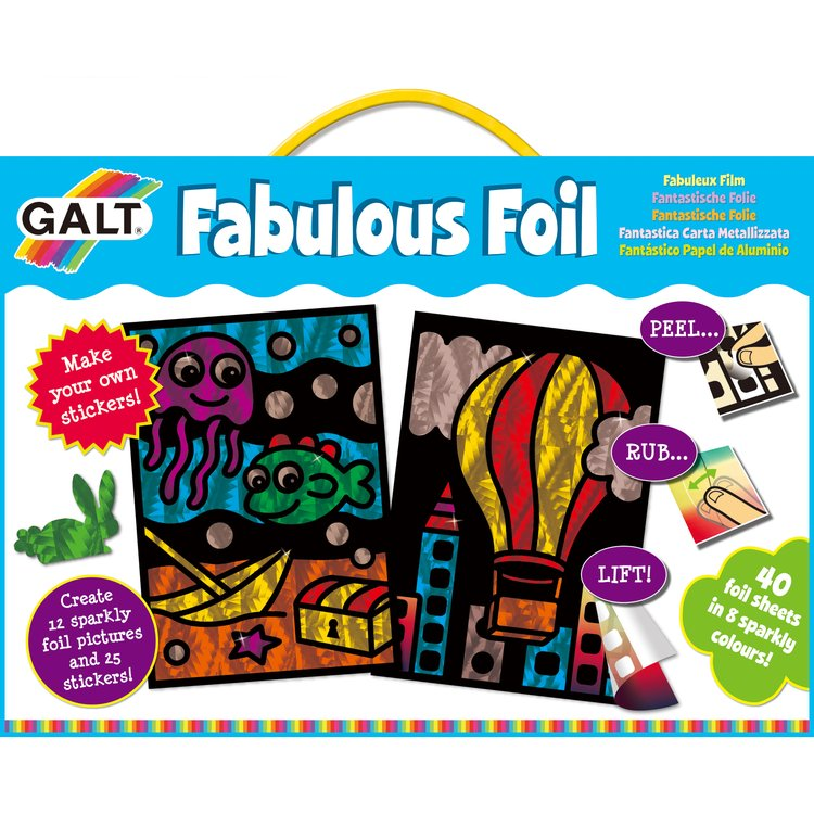 Galt Fabulous Foil Sticker and Picture Kit