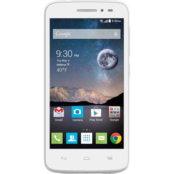 T-mobile - Alcatel Onetouch Pop Astro 4g With 4GB Memory No-contract Cell Phone - White