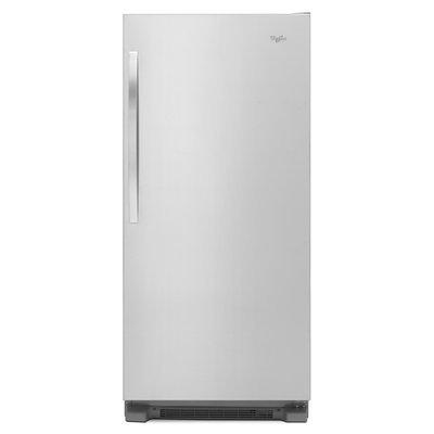 Whirlpool - Sidekicks 17.7 Cu. Ft. Refrigerator - Monochromatic Stainless-steel