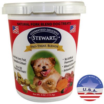 Gimborn Pro-Treat Freeze Dried Blends Pork Liver Dog Treats, 4 oz.