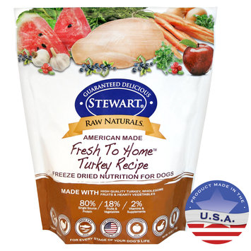 Gimborn Pet Specialties-Raw Naturals Freeze Dried Dog Food- Turkey 12 Ounce 402963